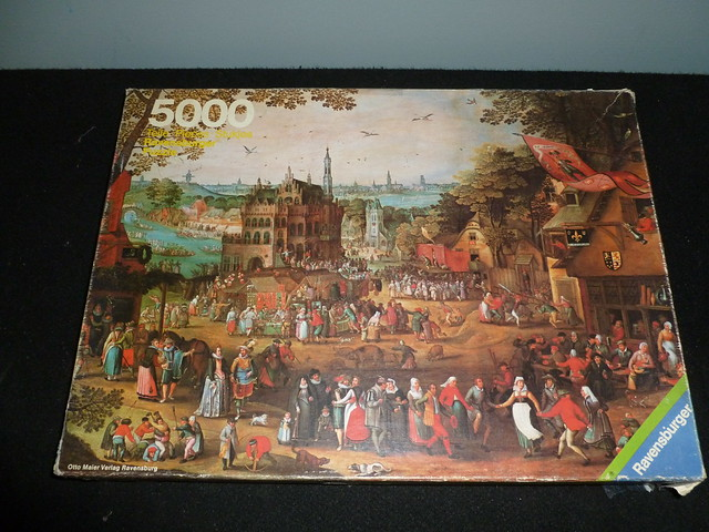 5000 piece puzzle country fair 1608 by david for Custom 5000 piece puzzle