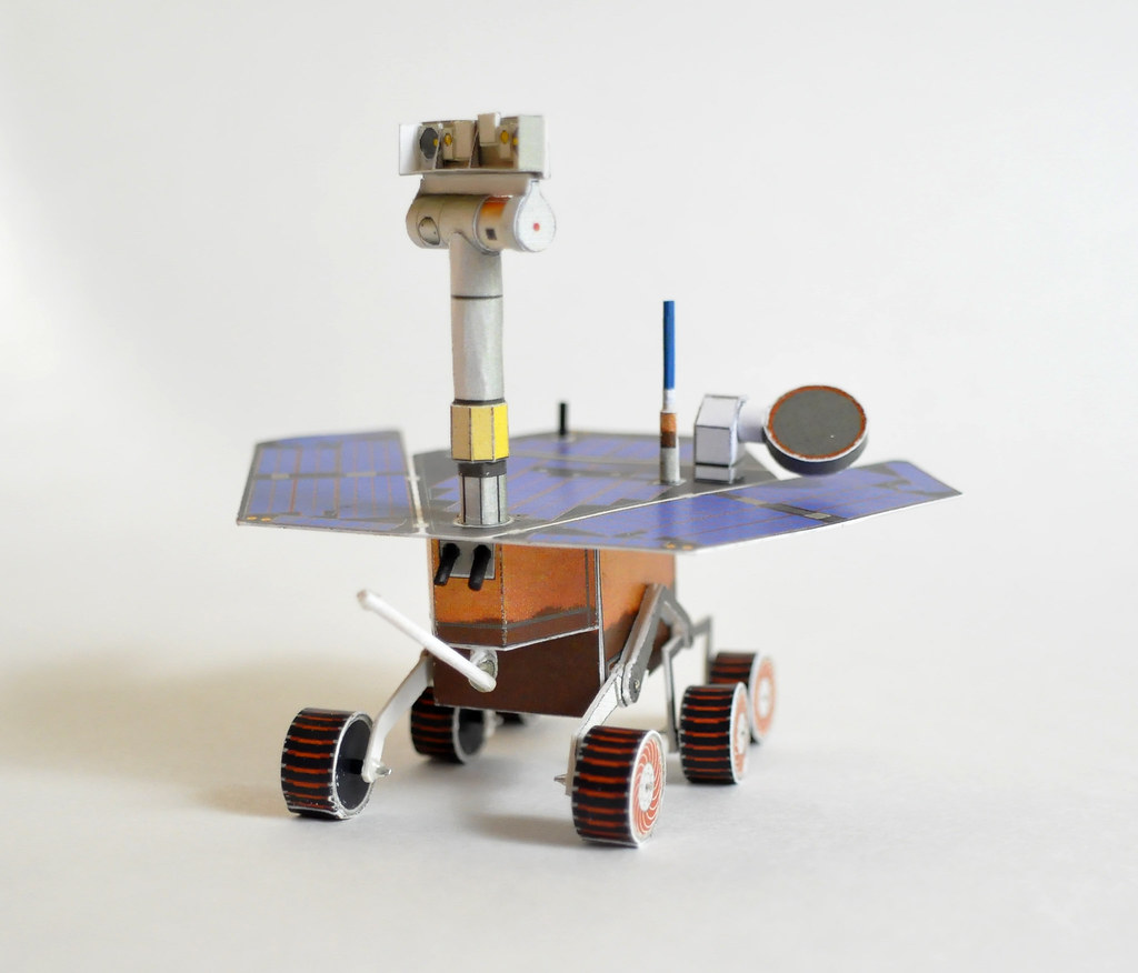 Papercraft Mars Rover 4 | Sorry that the Rock Abrasion ...