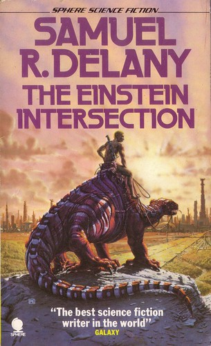 The Einstein Intersection by Samuel R. Delaney. 1977 Sphere. Cover artist Peter Elson