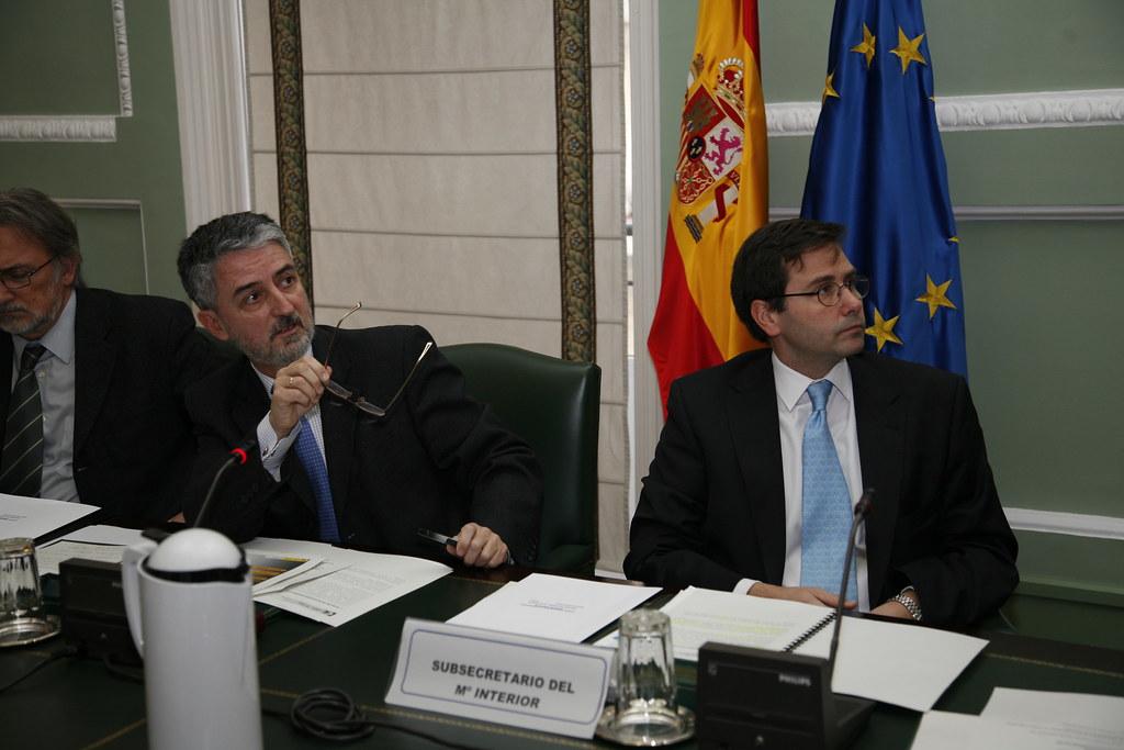 El subsecretario del ministerio del interior preside la re for Competencias del ministerio del interior