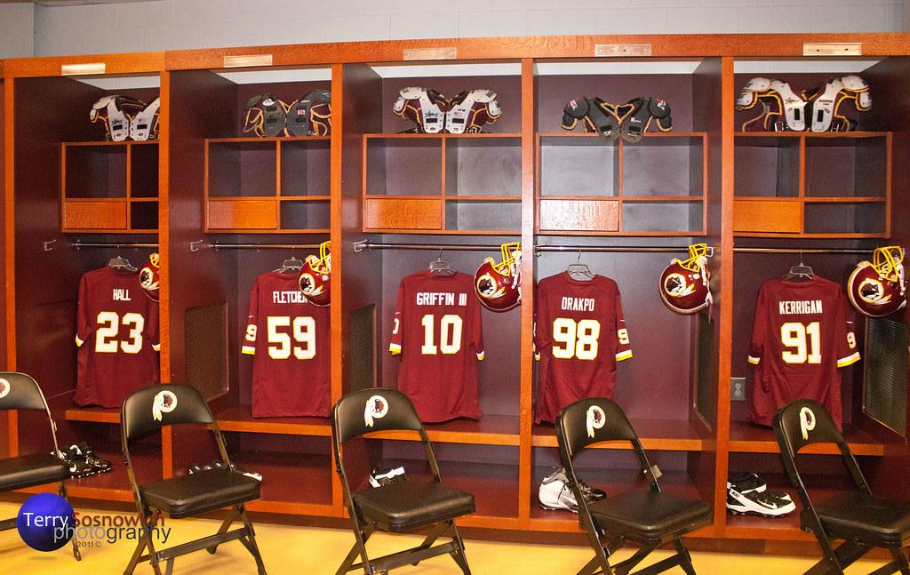 Washington Redskins Locker Room