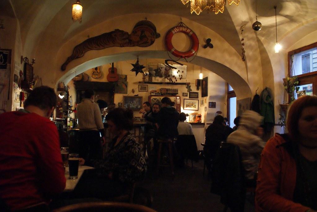 Café/bar Duende : Un lieu très agréable de la Vieille ville de Prague.