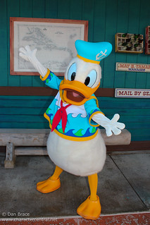 Meeting Donald Duck | by Disney Dan