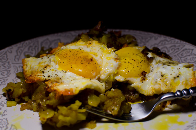 fried potatoes, onions, and eggs | Explore Michael W. May's ...