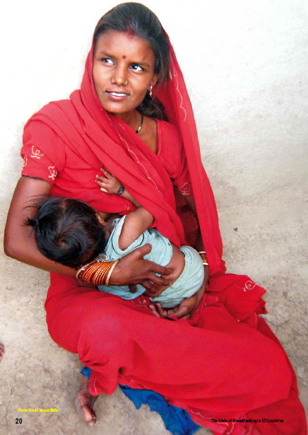 Indian Mother Breastfeeding, Photographer Unknown  Cherie -9722
