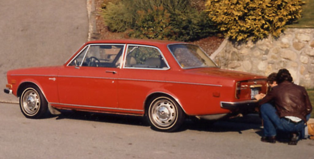 Volvo 142 GT Canadian 1969 factory edition, photo taken in ...