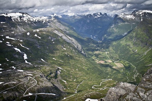 View on Geiranger from Dalsnibba | by *heloise*