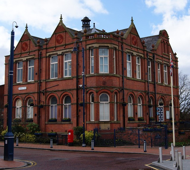 Denton Town Hall Jubilee Square Denton Manchester Flickr Photo Sharing