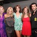 Caroline Lagerfelt, Jenny McCarthy, Courtney Henggeler, Chelsea Ricketts & Justin Baldoni celebrate the premier of their Ocean Views short films on Allure of the Seas