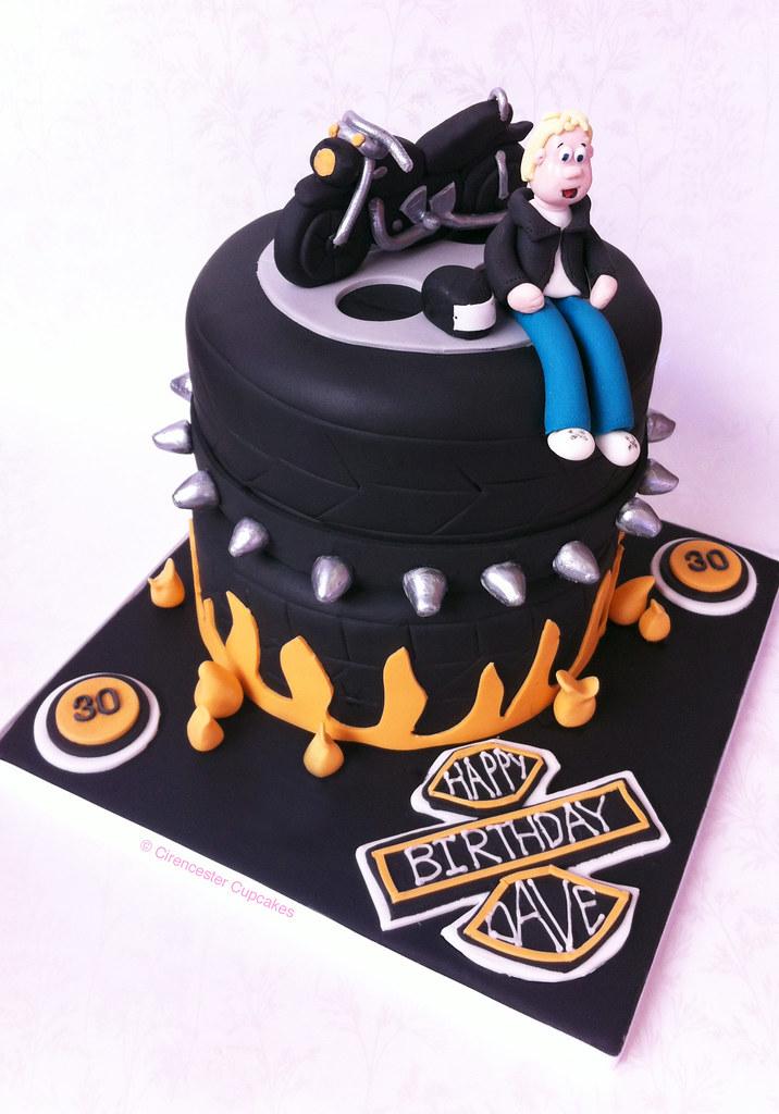 Birthday Cake Born To Ride Last Year We Created Gemma