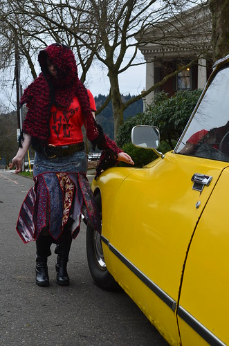 Ali Berry, Yellow Citroen 114 | by M3house.org