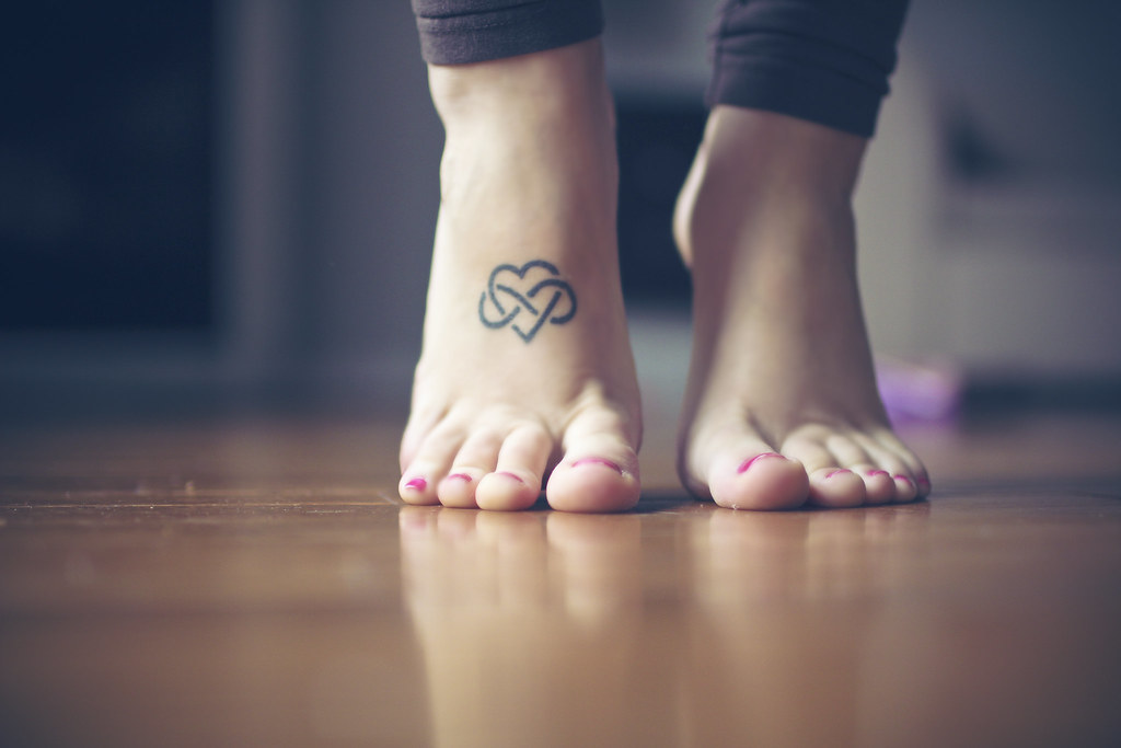 Heart And Infinity Tattoo: Infinity Heart Tattoo