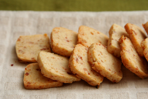 bacon parmesan crackers 4 | by crumblycookie