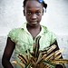 Haitian schoolgirl from Degerme - AYITI -