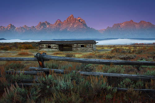 Teton Sunrise At The Cunningham Ranch | by Jerry T Patterson