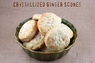 Crystallized Ginger Scones - Williams Sonoma | by Food Librarian