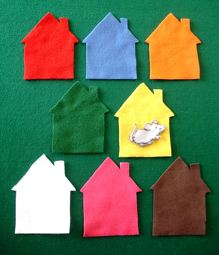 Mouse in the House Flannel Board | by Clermont County Public Library