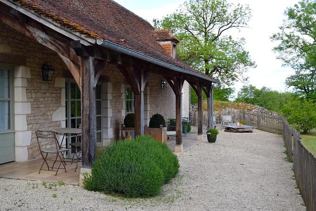 Pool House at Manoir de Malagorse | www.rachelphipps.com @rachelphipps
