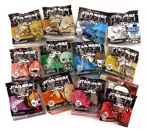 Star Wars Panson Works figure packs | by The Official Star Wars