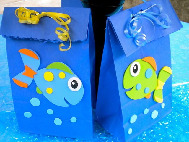 Fish party decorations flickr photo sharing for Fish party supplies