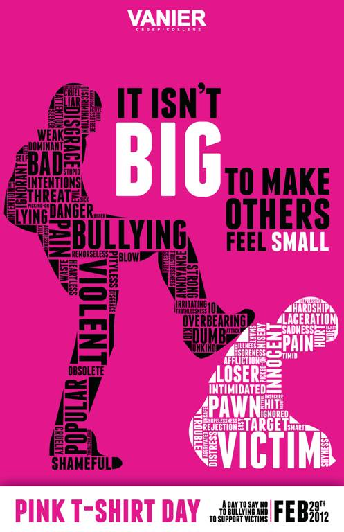All sizes | Pink Anti-Bullying Poster | Flickr - Photo ...