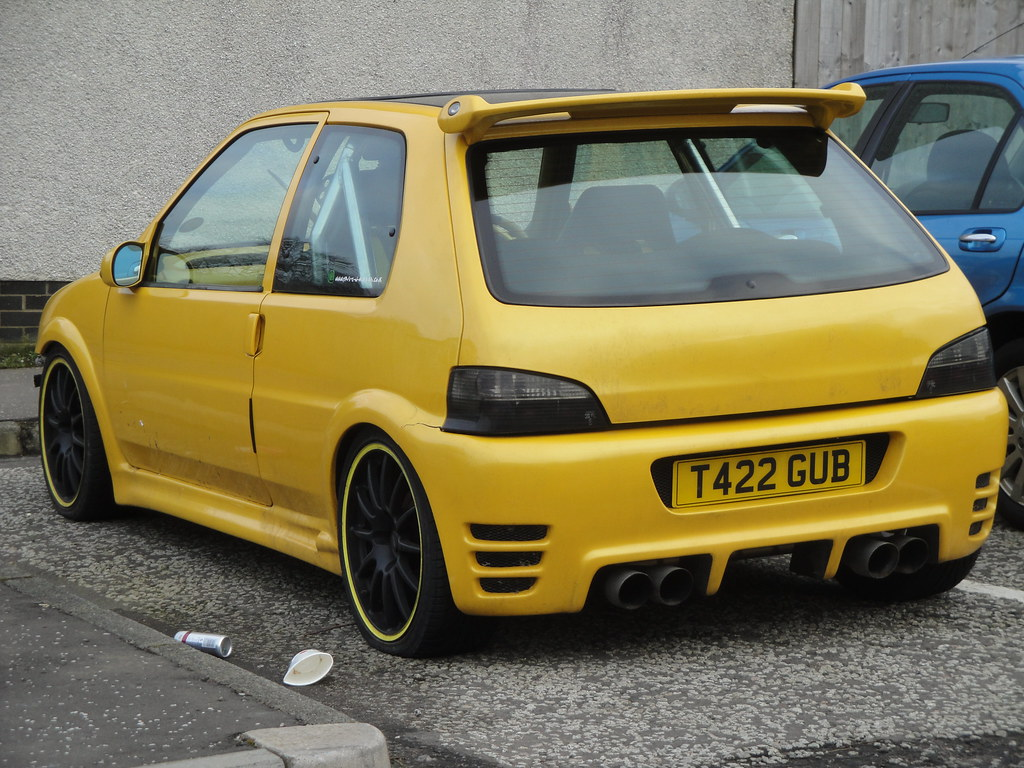 1999 Peugeot 106 Xr Quiksilver Alan Gold Flickr