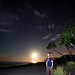Playa Hermosa Moonset