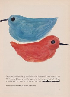 Underwood-Olivetti Portable Typewriters | by The Cardboard America Archives