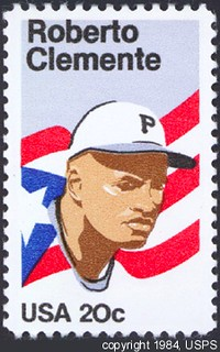 1984 Roberto Clemente stamp | by Nationalpastime.Com Pix