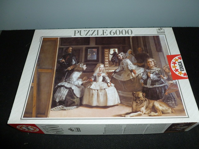 6000 Piece Puzzle Las Meninas By Diego Da Silva Velazquez Educa Borras Spain Flickr