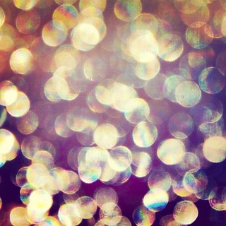 #Sky #Bokeh (taken from the window of an #airplane) :) | by DeeAshley