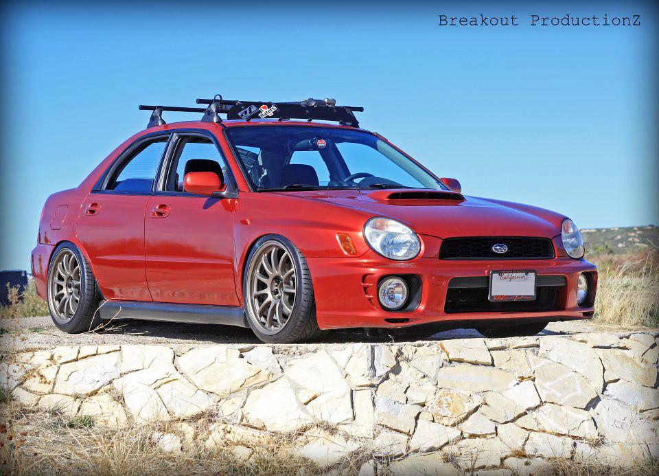 Justin S' Subaru WRX on WORK Emotion 11R (MHG)   Justin S ...