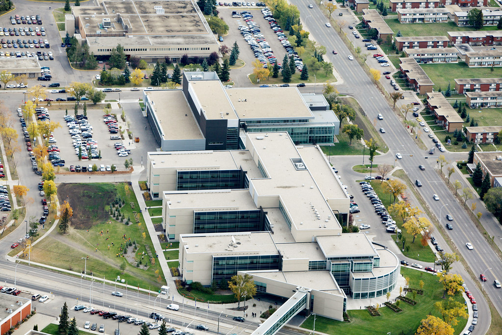 Nait Hp Centre Nait Main Campus In Edmonton Alberta