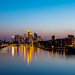 Frankfurt in Bluezone