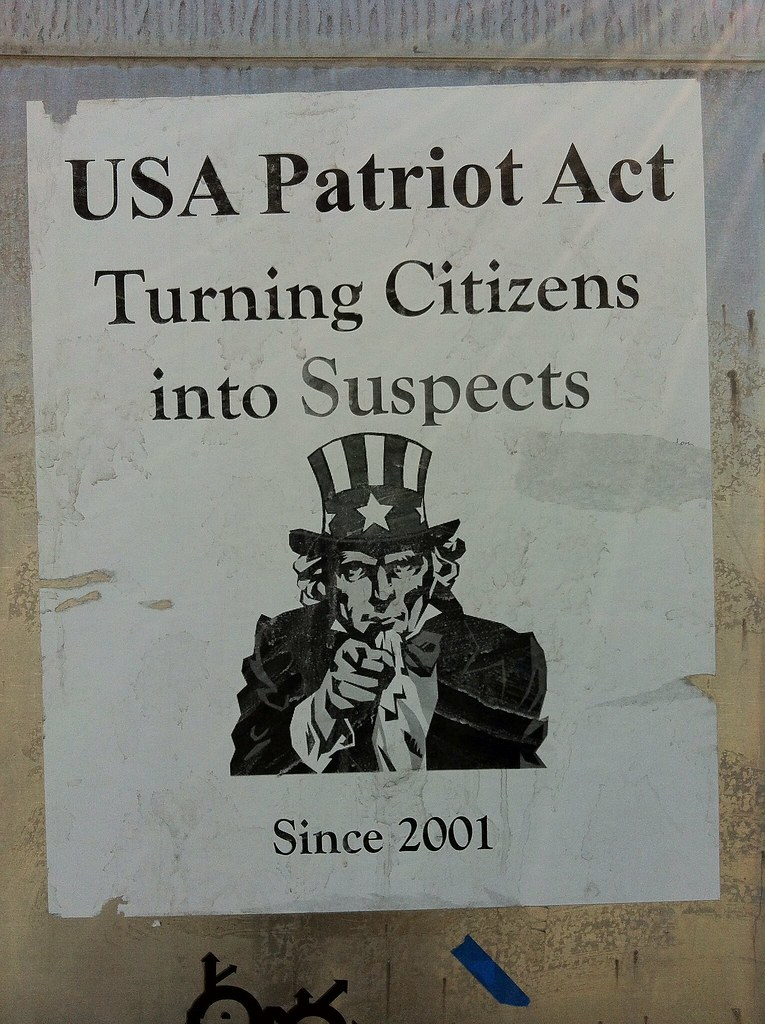 USA Patriot Act, turning citizens into suspects since 2001 ...