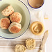 Banana Scones with Whipped Honey Butter