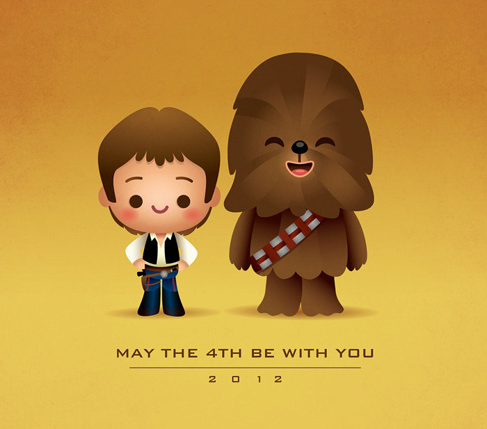 May The 4th Be With You Clip Art: In Honor Of Star Wars Day, I Give