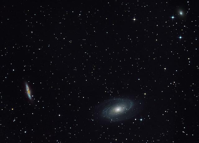 VCSE - M81, M82, NGC 3077 - Ágoston Zsolt