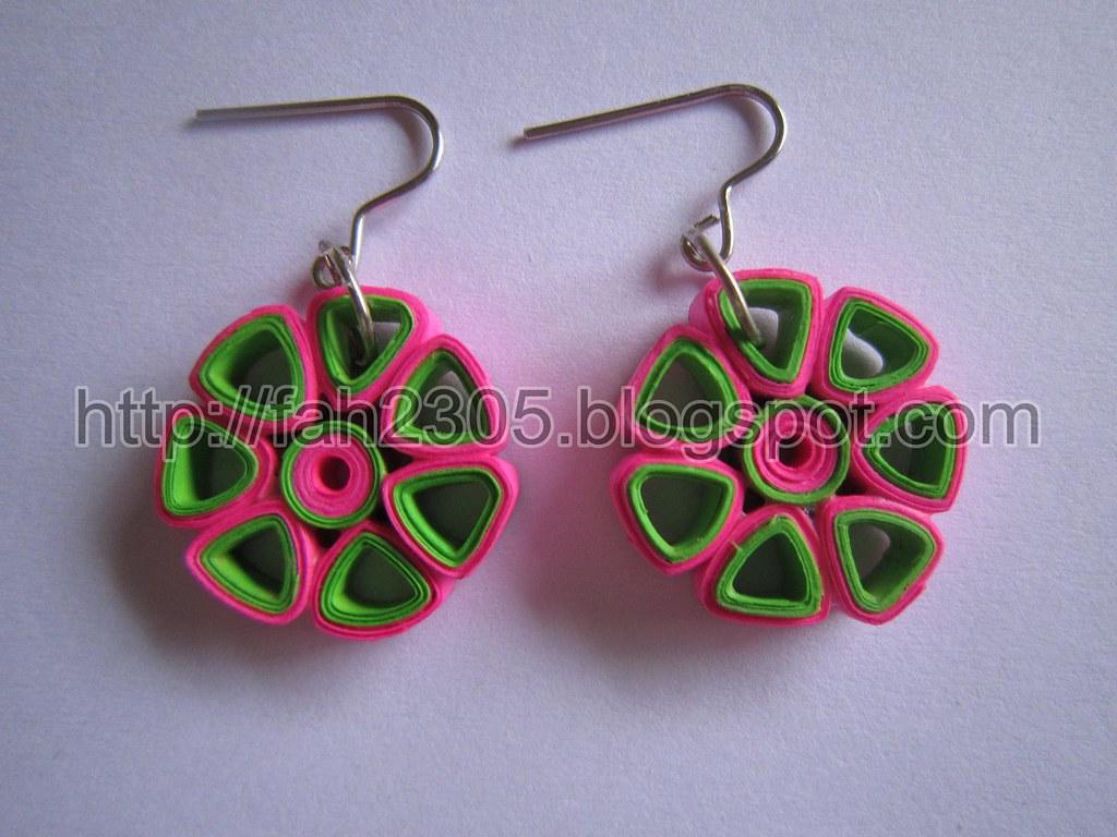 paper earrings handmade paper jewellery tutorial - photo #36