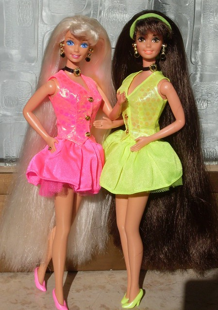 doll hair styling my cut n style barbies blond and version 1994