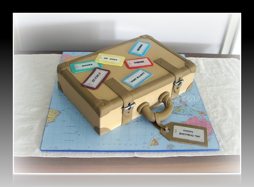 Suitcase Cake Tutorial