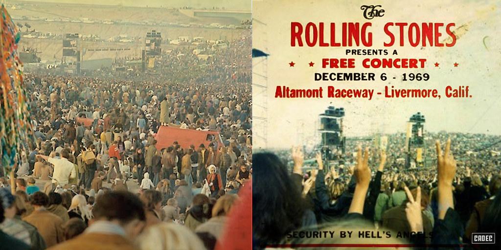 Rolling Stones, Altamont, Free Concert, Bootleg-Front