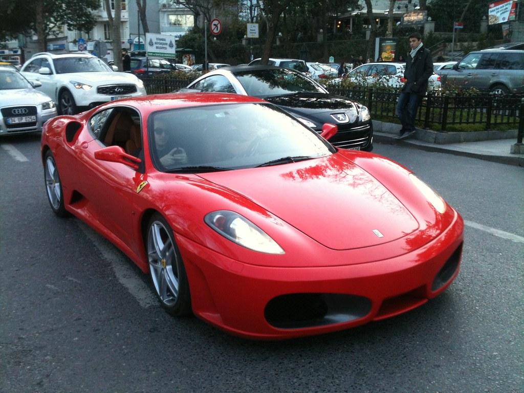 Red Ferrari F430 | Caught it cruising in Bebek, Istanbul. | William ...