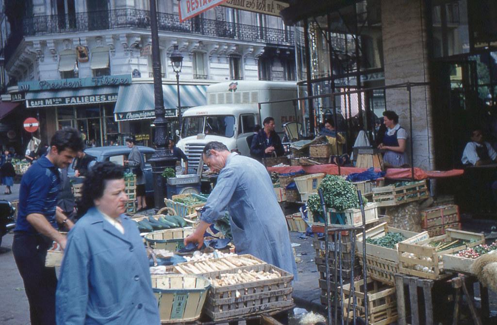 Paris - Les Halles (1960) | Flickr - Photo Sharing!