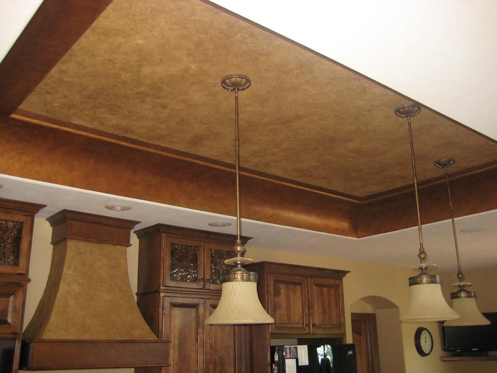 Kitchen Ceiling Paint Preparation