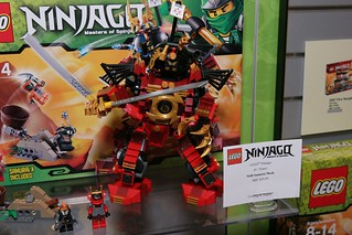 Toy Fair 2012 - Ninjago - 9448 Samurai Mech - 03 | by fbtb