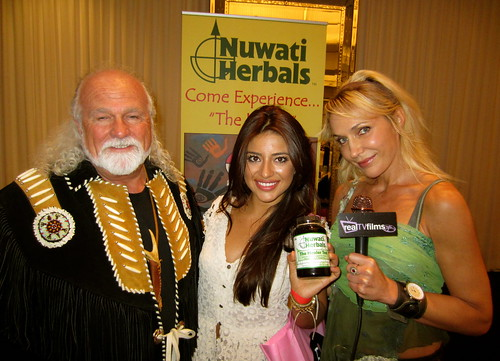 Rod Jackson, Mayra Leal, Susie Oliver, Nuwati Herbals, Grammys Lounge | by Real TV Films