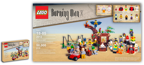 Burning man lego set | by Simon Pearce