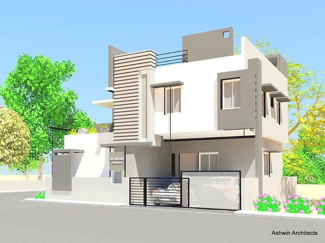 Murali 39 s residence house architecture design bangalore for Architecture design for home in bangalore