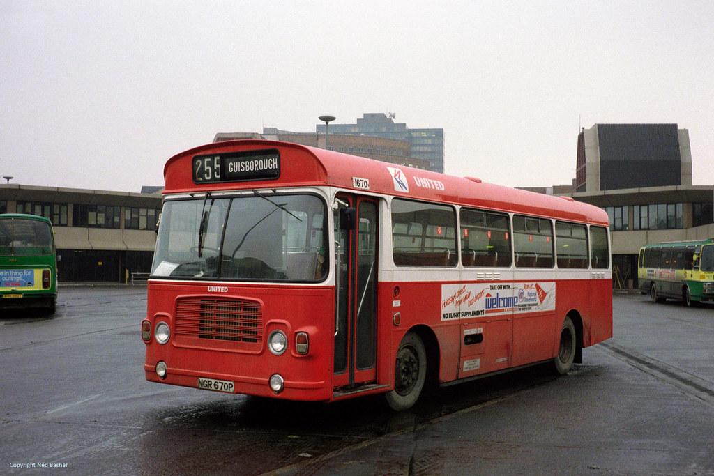 United Automobile Services Bristol LH / ECW 1670 (NGR670P ...